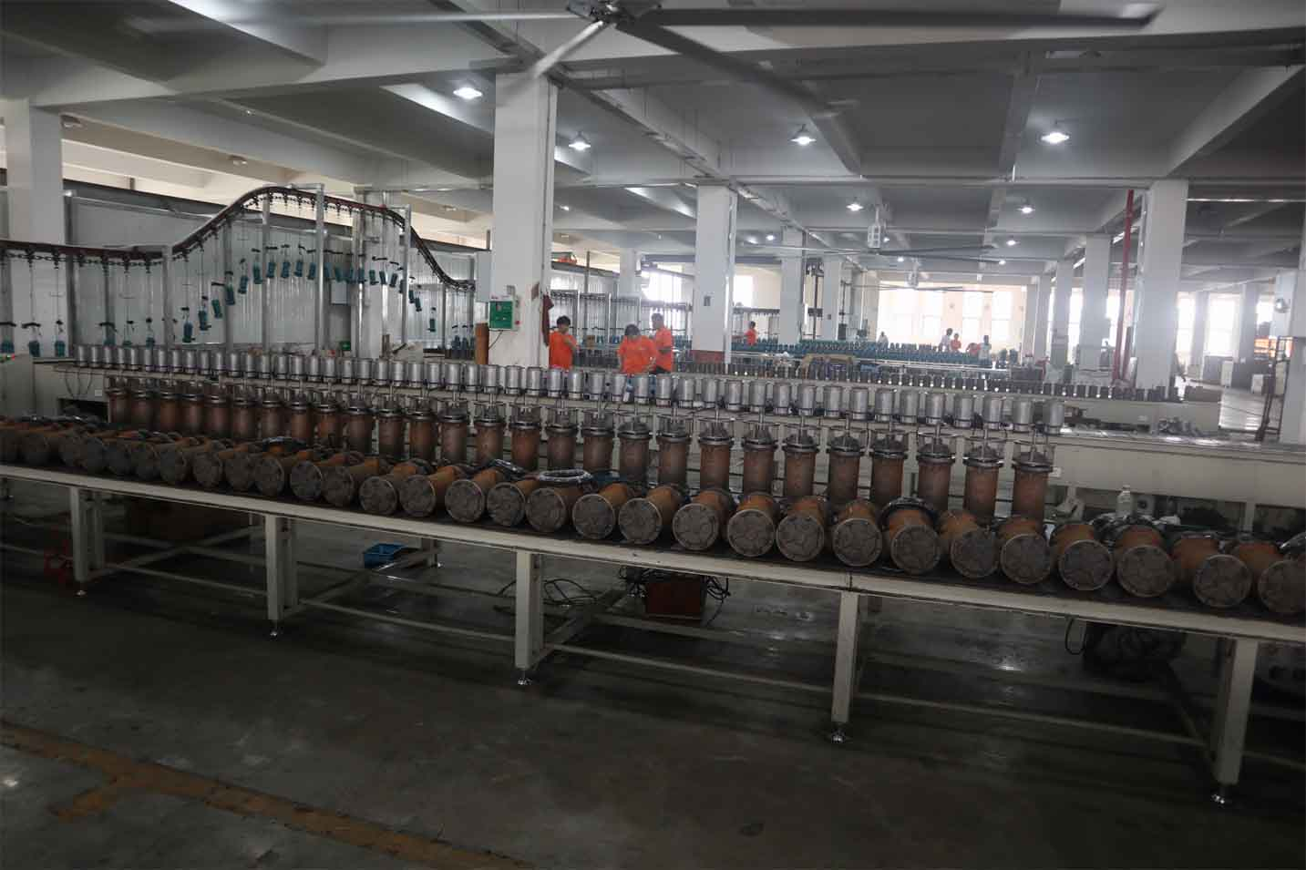 water pump production factory